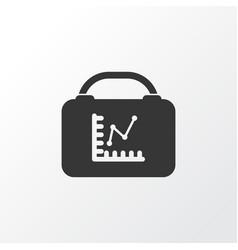 employee rating icon symbol premium quality vector image