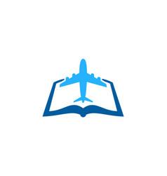 Joutney book logo icon design vector
