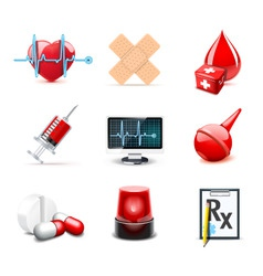 medical icons | bella series 1 vector image vector image