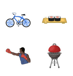 Metal business restaurant and other web icon in vector