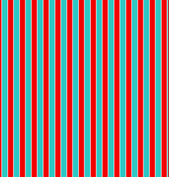 Red and cyan seamless vertical line background vector image