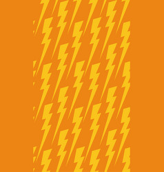 seamless texture with a flat lightning background vector image
