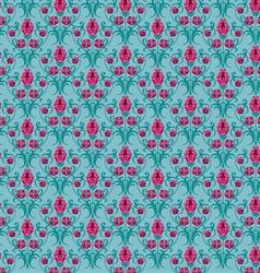 Tulip pattern vector