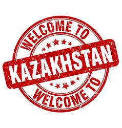 Welcome to kazakhstan vector