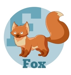 ABC Cartoon Fox3 vector image
