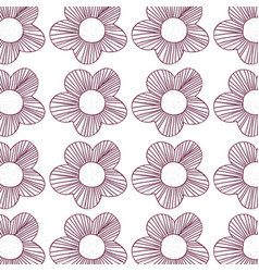 Beautiful flower background design vector