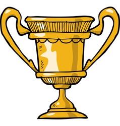 cartoon cup vector image
