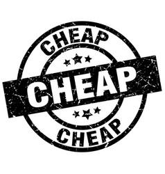 Cheap round grunge black stamp vector