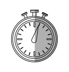Chronometer icon over vector