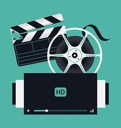 Film Movie Icons vector