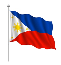 Flag of Philippines vector