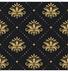 Floral royal background vector image
