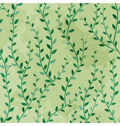 Green Trees Seamless vector image