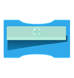 sharpener icon cartoon style vector image