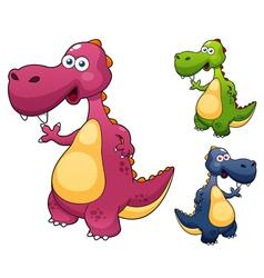 Dino vector image