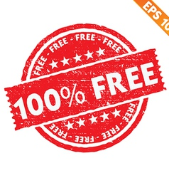 Stamp sticker Free collection - - EPS10 vector image