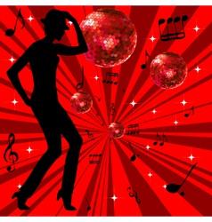disco advertising vector image vector image