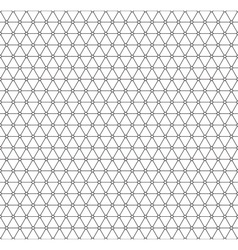 Triangle pattern vector image vector image