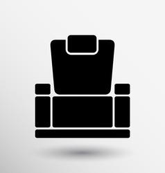 chair icon button logo symbol concept vector image