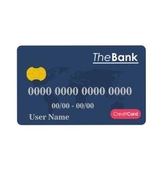 credit or debit card icon vector image