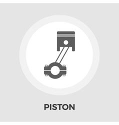Piston flat icon vector image