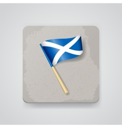 Scotland flag icon vector image