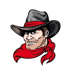 Texas cowboy vector image