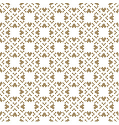 golden seamless pattern in japanese style vector image
