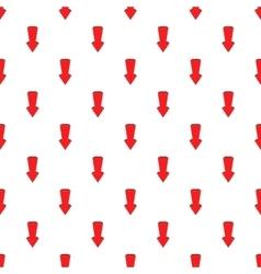 Big arrow pattern cartoon style vector