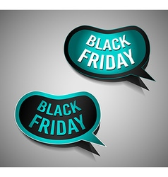 Black friday super sale promotional stick banners vector