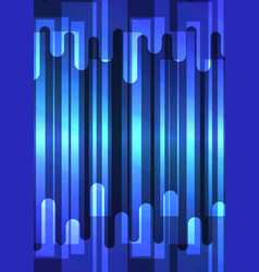 blue speed melt overlap abstract background vector image
