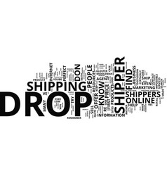 Five tested ways to find the perfect drop shipper vector