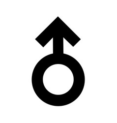 gender men signs black icon a symbol sexual vector image