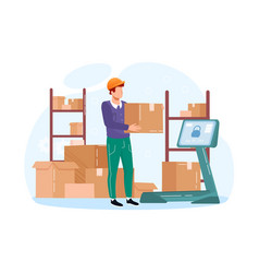 Inventory management with goods demand vector