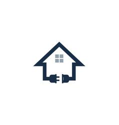 property power logo icon design vector image