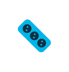 socket icon colored symbol premium quality vector image