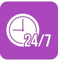 Twenty-four seven service vector
