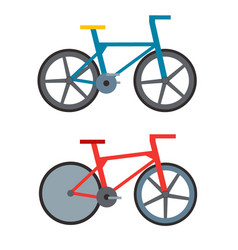 vintage retro bicycle and style antique sport old vector image vector image