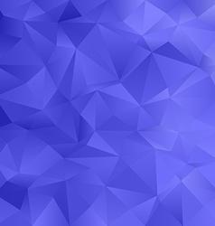 Blue irregular triangle pattern background vector