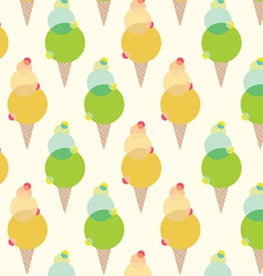 ice creams vector image