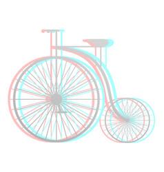 Imaginative bike vector