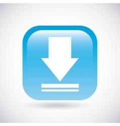 Download icon button design graphic vector