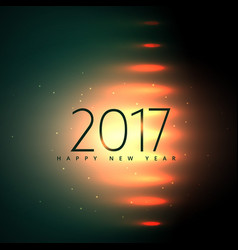 stylish 2017 happy new year background with vector image