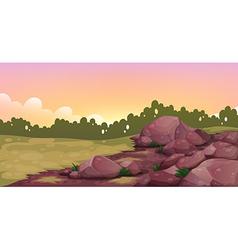 An image of rocks vector