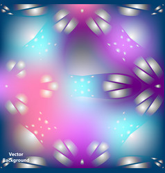 Background with colorful abstract ornament vector