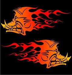 Burning Boar vector
