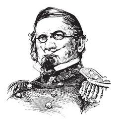 General scott vintage vector
