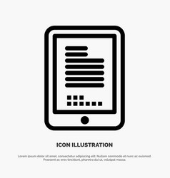 Mobile coding hardware cell line icon vector