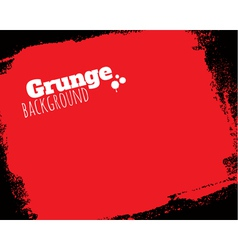 Rolled textured grunge red background vector