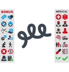 Spiral Bacillus Icon vector